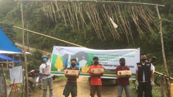 Yayasan Hadji Kalla Tebar Kebaikan Jelang Hari Raya Bersama ACT Sulsel Hingga ke Pelosok