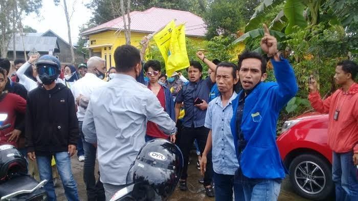Demo Aktivis PMII di Sinjai Ricuh, Ada Kades Pukul Mahasiswa