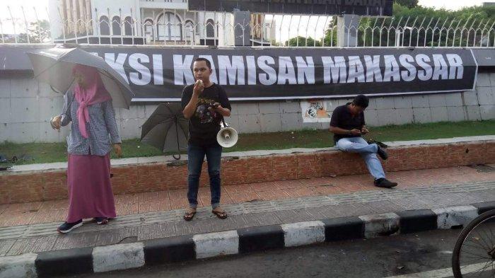 Dilecehkan dan Divonis Penjara, Aksi Kamisan Makassar: Kami Bersama Ibu Nuril!
