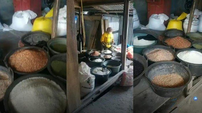 Kios Pedagang di Pasar Sentral Bulukumba Dibobol Maling, 7 Karung Beras Dibawa Kabur
