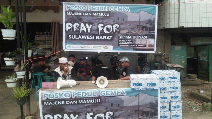 Ini 5 Organisasi Buka Open Donasi di Kabupaten Wajo Bantu Korban Gempa Sulbar