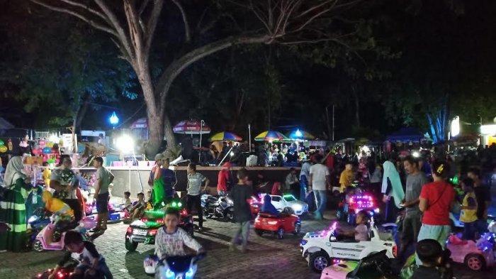 Alun Alun Vatulemo Surga Kecil Bagi Anak Anak Di Kota Palu Tribun Timur