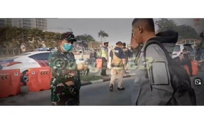 'Bapak gajian, Saya Gak Buka Gak makan', Viral Petugas PPKM vs Penjual Kopi Saat Penertiban Covid19