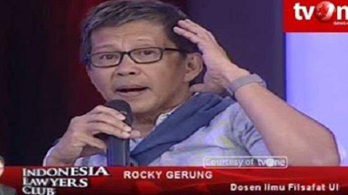 Serang Anies, 3 Menteri Jokowi Disebut Rocky Gerung Hanya Iri Hati 'ini Kecemburuan Saja Sebenarnya'