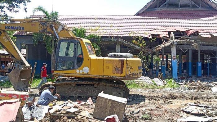 Terminal Callaccu Sengkang Kini Rata dengan Tanah