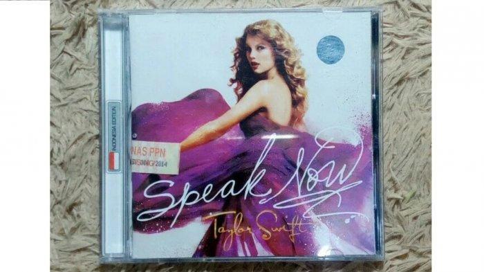 TRIBUNWIKI - Album Speak Now Taylor Swift Trending Topic Twitter Indonesia, Ini Ulasan Albumnya