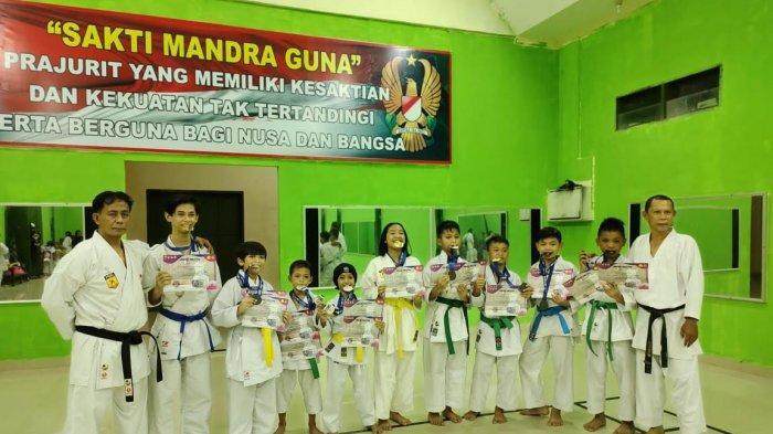 9 Karateka Dojo Inkai Zipur 8SMG Makassar Borong Medali di Ajang Jakarta Open Festival 2021
