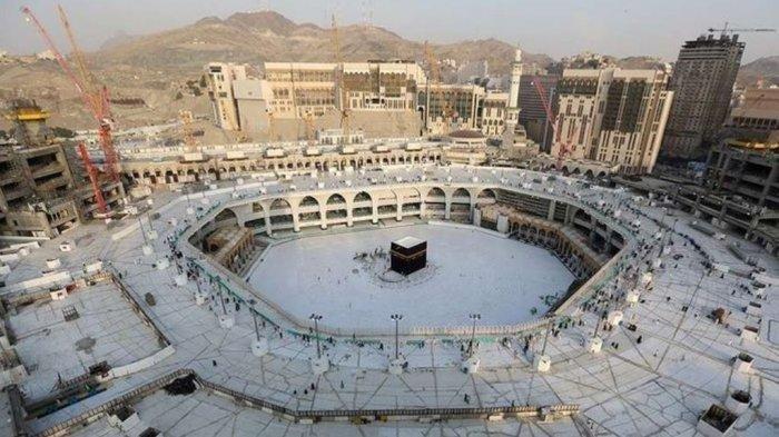 ILUSTRASI-ALHAMDULILLAH, Layanan Ibadah Umrah Dibuka Mulai Besok, Arab Saudi Beri Izin 108.041 Jemaah