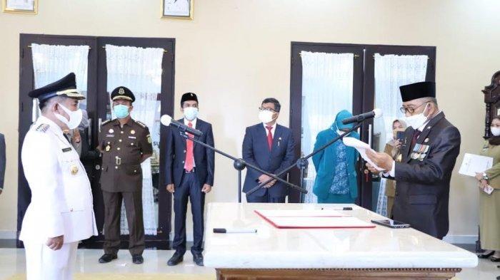 Gantikan Fahmi Massiara, Lukman Dilantik Jadi Bupati Majene