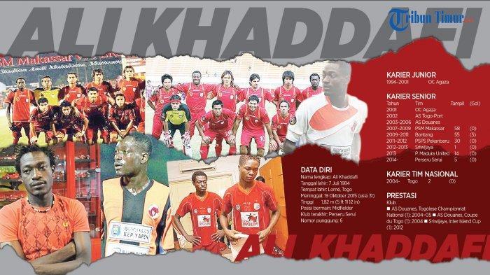 Masih Ingat Ali Khaddafi Gelandang Serbabisa PSM Makassar? Kenangan 3 Tahun yang Sangat Memukau