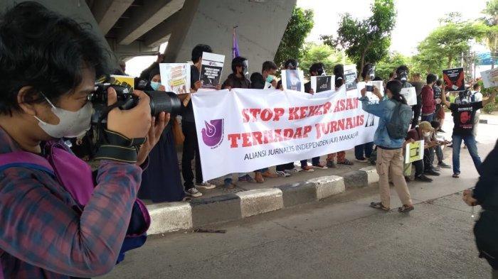 90 Jurnalis Mendapat Kekerasan Setahun Terakhir, Pelakunya Dominan Polisi