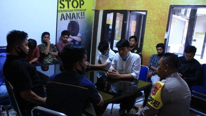 Aliansi Mahasiswa Palopo Datangi Polres, Pertanyakan Kasus BBM Selundupan