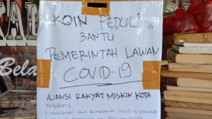 Sindir Pemkot Palopo, Aliansi Masyarakat Miskin Kota Kumpulkan Koin Bantu Tangani Covid-19