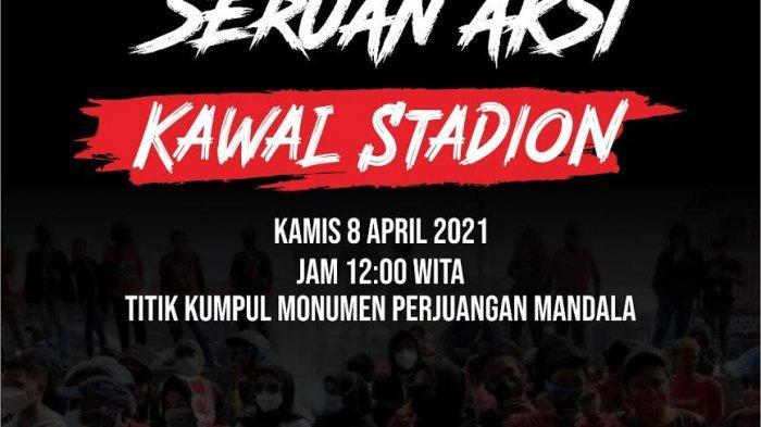 Besok Aliansi Peduli Mattoanging Gelar Aksi, Desak Pembangunan Stadion
