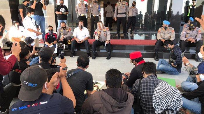 Aliansi Wartawan Sulbar Desak Polda Ungkap Pembunuhan Demas Laira