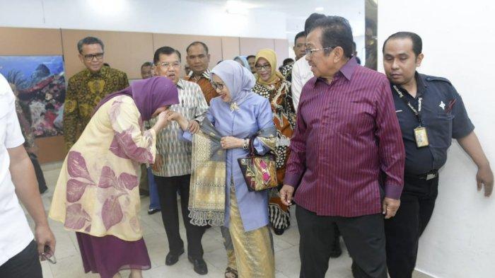 Ilham Arief Sirajuddin, Aliyah Mustika Ilham, Nurdin Abdullah Jemput Mantan Wapres Jusuf Kalla - aliyah-mustika-ilham-2-26102019.jpg