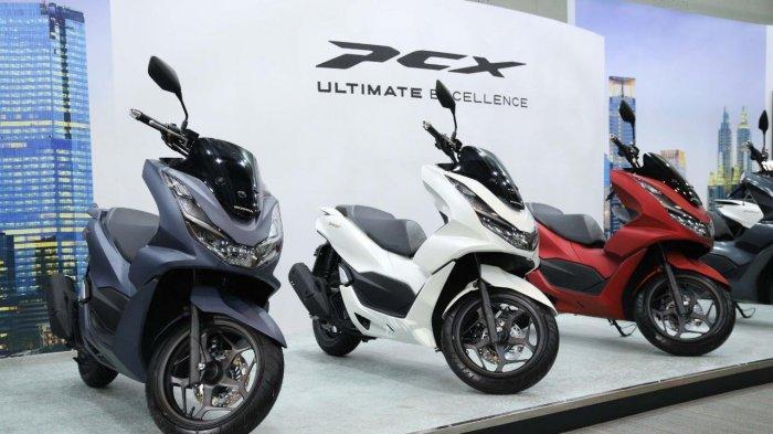 Inilah Desain Mewah dan Fitur New Honda PCX - All New Honda PCX e:HEV