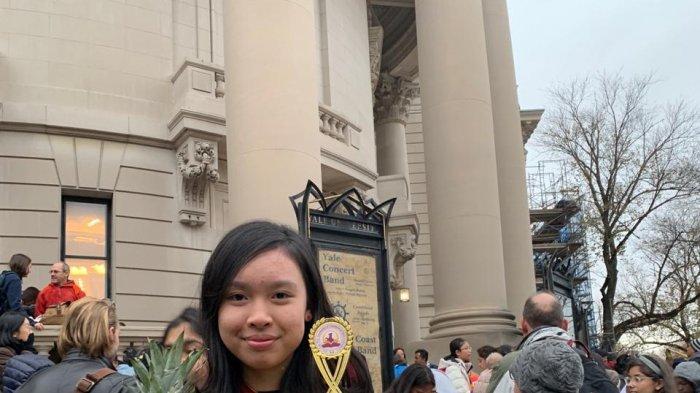 Hebat, Cewek Makassar Ini Juara 1 Debat Dunia di AS. Ternyata Cucu Mentan Syahrul Yasin Limpo
