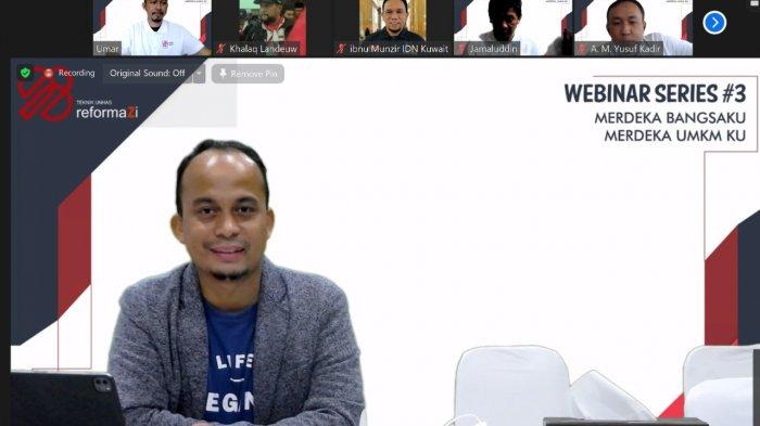 Alumni Fakultas Teknik Unhas 98 Gelar Webinar, Bahas Peluang UMKM di Masa Pandemi Covid-19