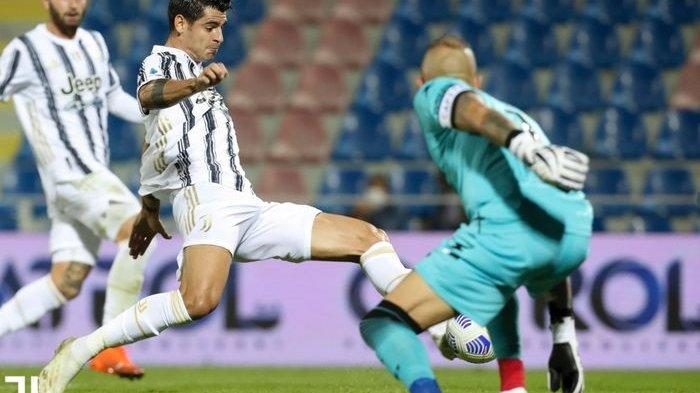 Hasil Liga Italia - Wasit Anulir Gol Alvaro Morata, Juventus Gagal Menang