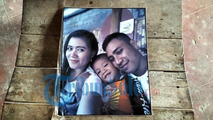 Foto Vino dan kedua orangtuanya asal Sragen, yang sudah meninggal dunia, karena covid-19 di Kutai Barat, Kalimantan Timur.