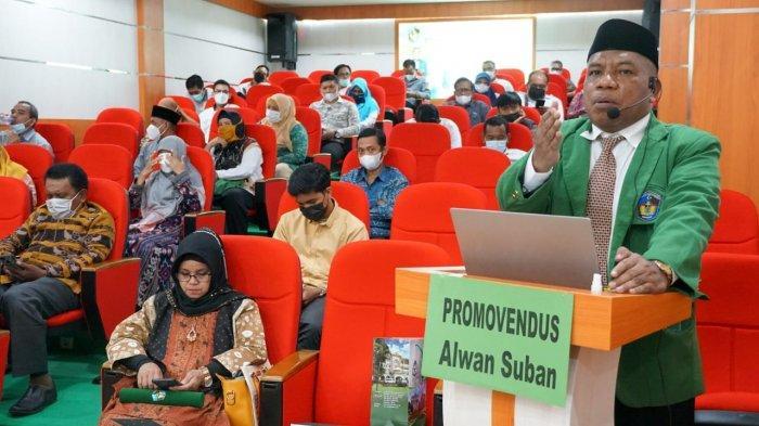 Kepala Biro AUPK UIN Alauddin, Alwan Subhan Raih Gelar Doktor