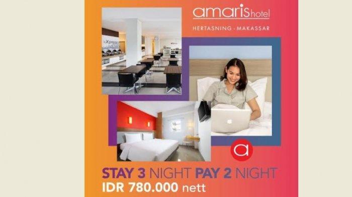 Bertajuk Stay 3 Nights Pay 2 Nights, Ini Paket Nginap Terbaru Amaris Hotel Hertasning