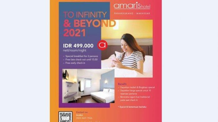Ini Promo Spesial Malam Tahun Baru di Amaris Hotel Panakkukang Makassar
