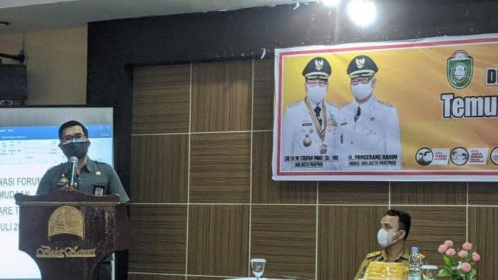 Disporapar Parepare Libatkan OKP Susun Draft Perwali Penyelenggaraan Kepemudaan