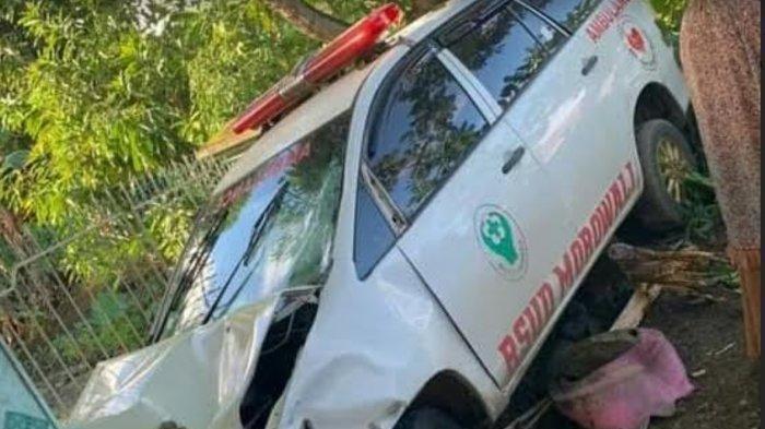 Ambulans yang Tabrak Pengendara Motor di Larompong Luwu Tidak Membawa Pasien