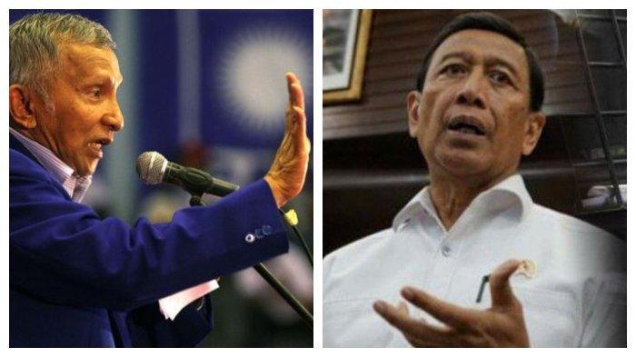 Ucapannya Mulai Dikaji Tim Hukum Nasional, Amien Rais Beri Ultimatum, 'Wiranto, Hati-hati Anda!'