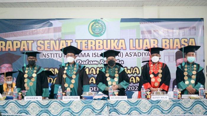 Wamenag Buka Kuliah Perdana di IAI As'adiyah Sengkang: Tetap Semangat untuk Belajar
