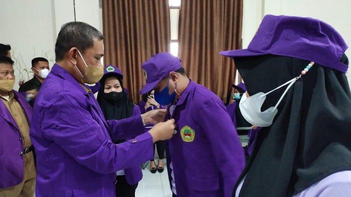 Hadiri Pelepasan KKLP Mahasiswa STIE-STIH Lamaddukelleng, Bupati Wajo Ingatkan Pencegahan Pandemi