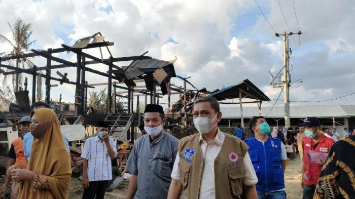Bupati Wajo Bantu Korban Kebakaran di Penrang