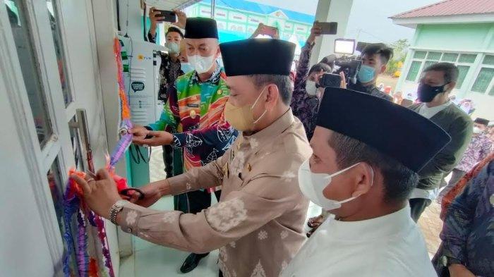 Bupati Wajo Resmikan Asrama Ponpes Daarul Mu'minin As'adiyah Doping, Ada juga Produksi Air Mineral