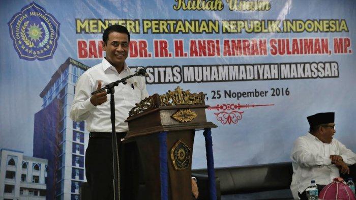 Menteri Pertanian Bentuk Tim Sapu Bersih Pungli