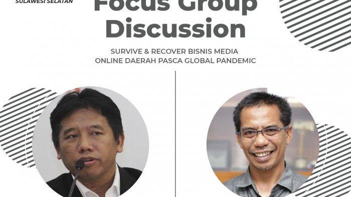 AMSI Sulsel Gelar FGD Pemulihan Bisnis Media Online, CEO Tribun Network Narasumber