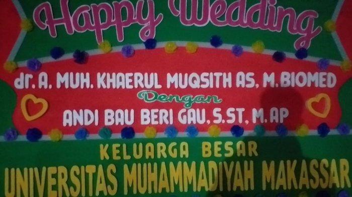 Anak Ketua Muhammadiyah Sulsel dan Rektor Unismuh Makassar Menikah di Wajo, Hotel di Sengkang Ramai