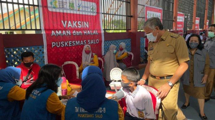BIN Bantu Percepat Vaksinasi Covid-19 Untuk 3.500 Pelajar di Kabupaten Pinrang