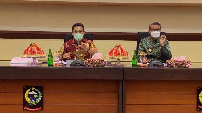 Andi Iwan Darmawan Aras Temui Nurdin Abdullah, Bursa Pilgub Sulsel 'Memanas'