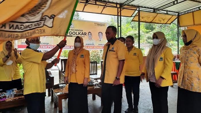 Golkar Sinjai Panaskan Mesin Partai di 9 Kecamatan
