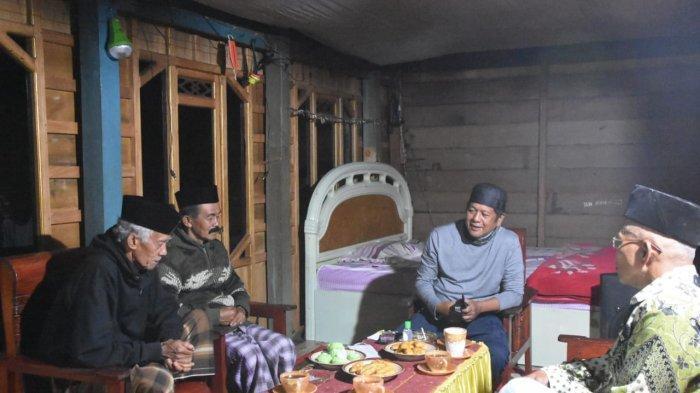 Andi Kaswadi Razak menginap di rumah warga di Dusun Umpungeng, Kelurahan Salotungo, Kecamatan Lalabata, Soppeng, Senin (5/10/2020).