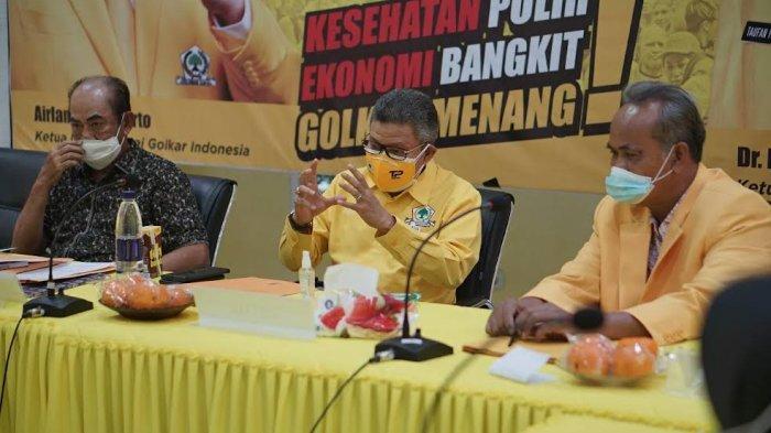 Gagal Gelar Musda, Marzuki Wadeng & La Kama Wiyaka Mundur Sebagai Ketua dan Sekretaris Golkar Lutim