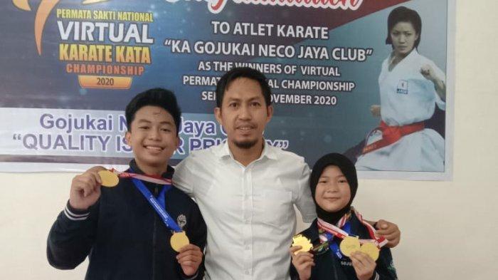 Adik Kakak Karateka Palopo Sabet Medali Emas Turnamen Karate Tingkat Nasional
