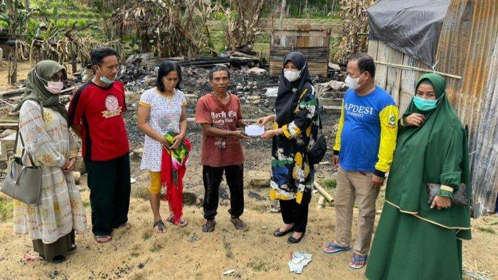 Legislator PPP Andi Nurhidayati Bantu Korban Kebakaran di Marioritengnga Soppeng