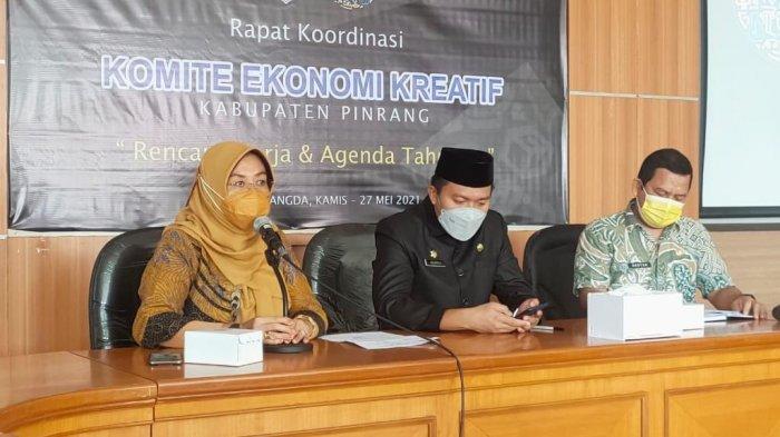 Ketua Dekranasda Pinrang Minta Pengusaha Muda Genjot Pertumbuhan Ekonomi Kreatif