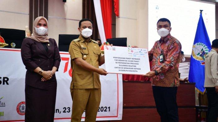 Plt Gubernur Sulsel Minta Bantuan 10 Ribu Paket Sembako ke 24 Daerah Tepat Sasaran