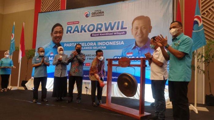 Andi Sudirman Sulaiman-Danny Pomanto Hadiri Rakorwil DPW Gelora Sulsel