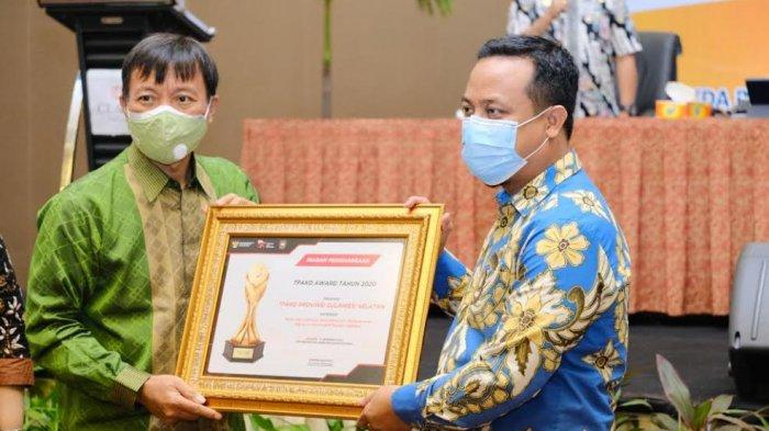 Terima Penghargaan TPAKD Award 2020, Andi Sudirman: Ini untuk Gubernur Nurdin Abdullah