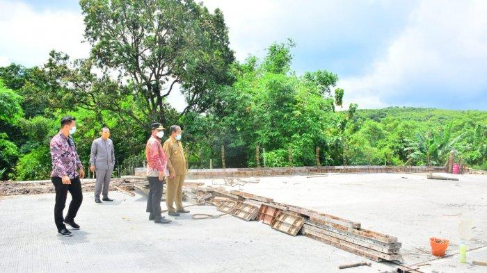 Wagub Sulsel Tinjau Pembangunan Jembatan Jalan Lingkar SKPD Watangpulu di Sidrap